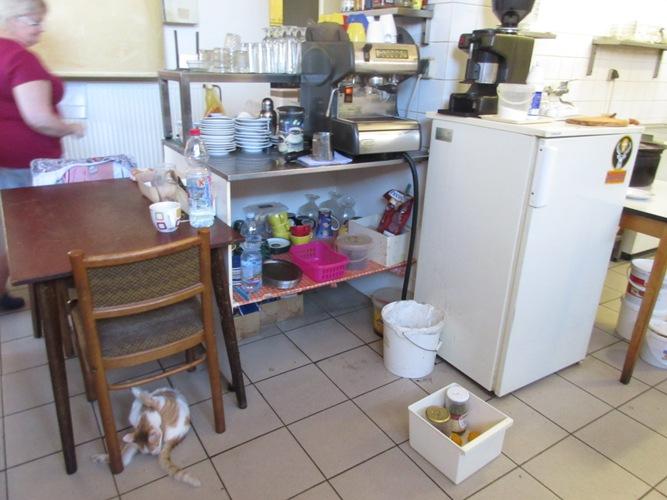 15-09-17 kuchyň, hospoda Obecní dům, Dříteč