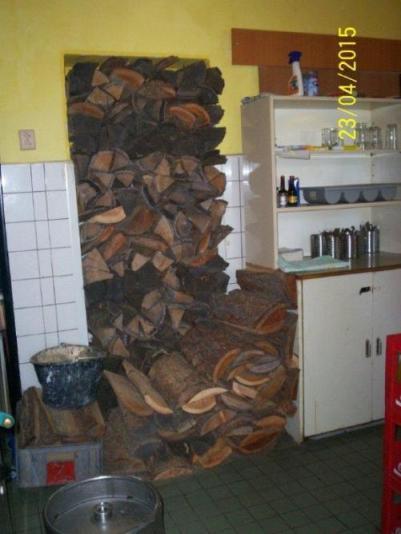 Restaurace v hotelu - kuchyň