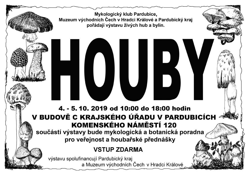 Výstava hub Pardubice