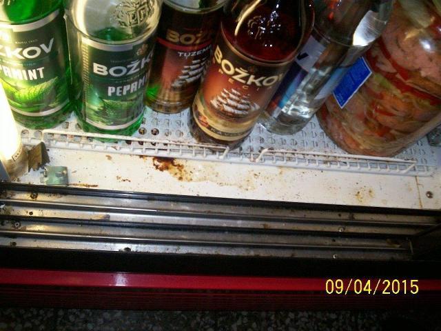 lednice ve výčepu