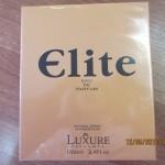 Elite Eau de parfum, Luxure Parfumes. foto