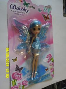 Panenka Baboliy s motýlími křídlly foto