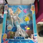 Panenka Linda Hermosa Sirena - sada 2 panenek foto