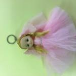 Panenka s křídly na zavěšení foto