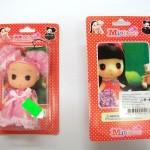 Vz.č.4. Plastová panenka MINI BEAUTY - přední + zadní strana_(683718)