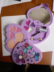 claire´s make up set. foto
