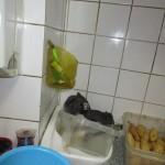 umyvadlo pro mytí rukou v bistru